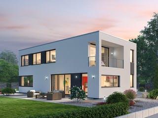 Einfamilienhaus BHS 182 von Ytong Bausatzhaus Außenansicht 1