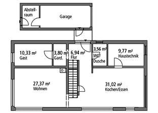 Einfamilienhaus BHS 182 Grundriss