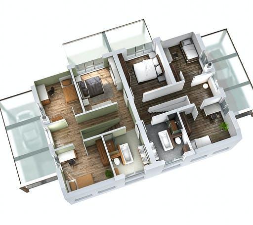 Ytong Doppelhaus DHH 119 Floorplan 4