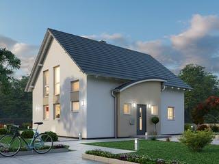 Einfamilienhaus EFH 124 von Ytong Bausatzhaus Außenansicht 1
