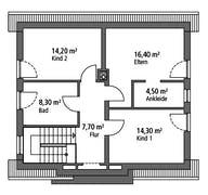 Einfamilienhaus EFH 124 Grundriss