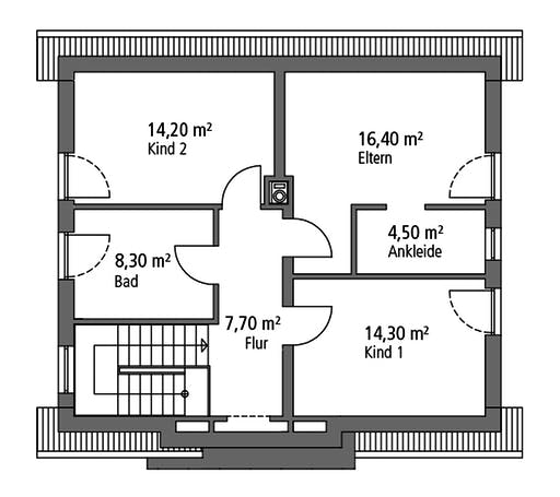 Ytong Einfamilienhaus 124 Floorplan 2