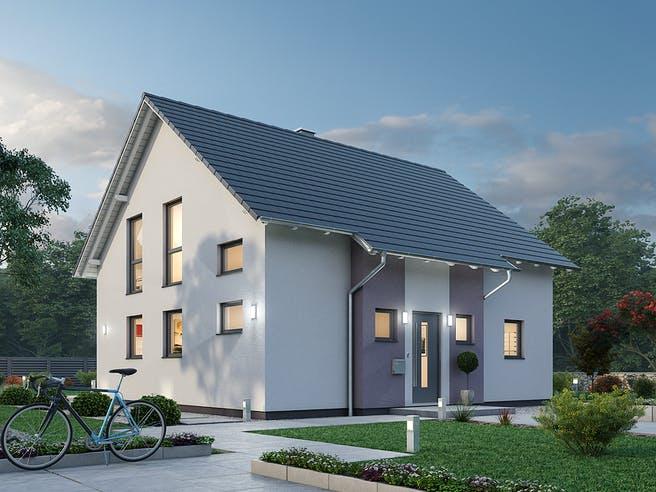 Einfamilienhaus EFH 136 von Ytong Bausatzhaus Außenansicht 1