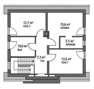 Einfamilienhaus EFH 136 Grundriss