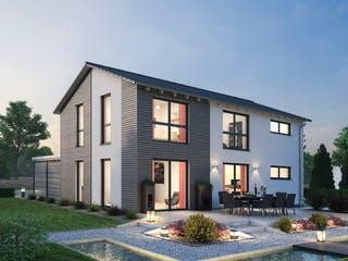Einfamilienhaus EFH 139 von Ytong Bausatzhaus Außenansicht 1