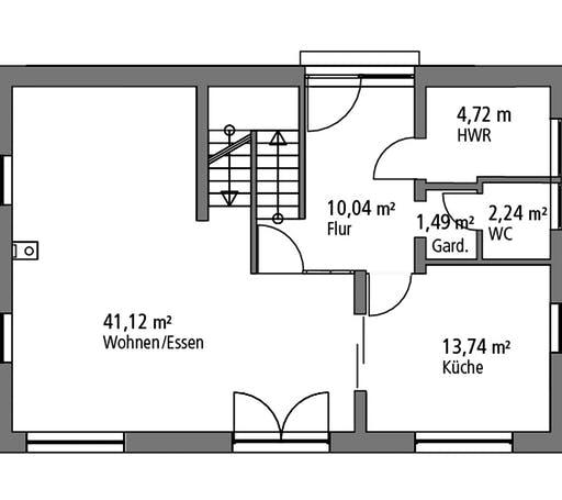 Ytong Einfamilienhaus 139 Floorplan 1