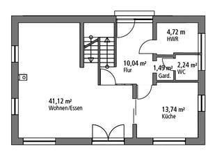 Einfamilienhaus EFH 139 Grundriss