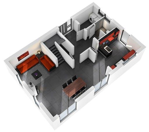 Ytong Einfamilienhaus 139 Floorplan 3