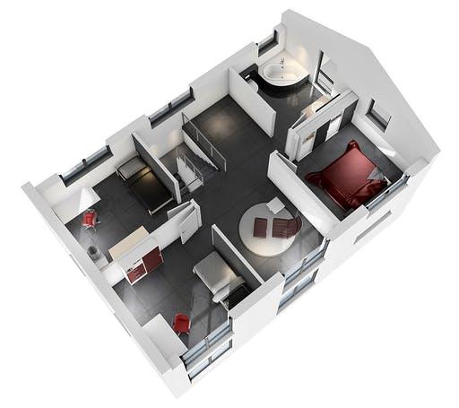 Ytong Einfamilienhaus 139 Floorplan 4