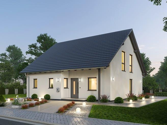 Einfamilienhaus EFH 142 von Ytong Bausatzhaus Außenansicht 1