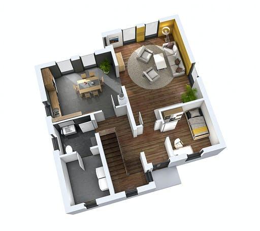 Ytong Einfamilienhaus 142 Floorplan 1