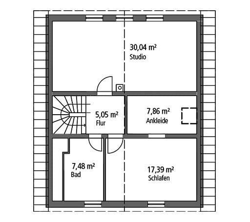Ytong Einfamilienhaus 143 Floorplan 2