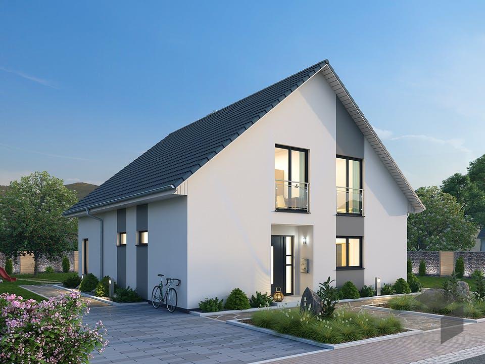 Einfamilienhaus EFH 147 von Ytong Bausatzhaus Außenansicht