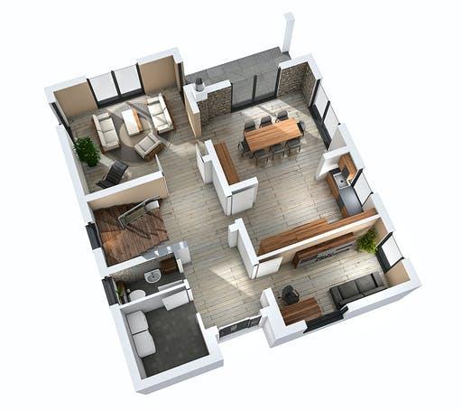 Ytong Einfamilienhaus 147 Floorplan 3