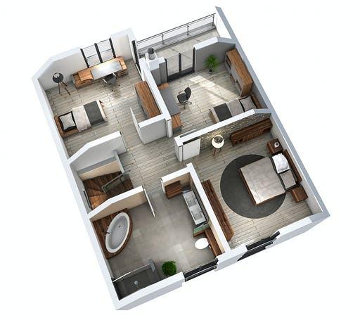 Ytong Einfamilienhaus 147 Floorplan 4