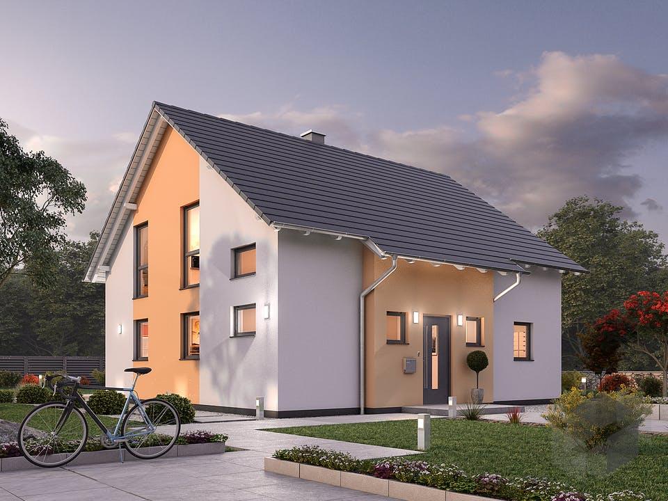 Einfamilienhaus EFH 148 von Ytong Bausatzhaus Außenansicht