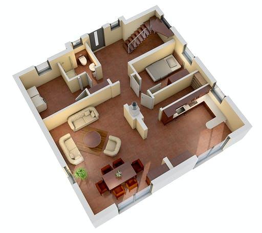 Ytong Einfamilienhaus 148 Floorplan 3