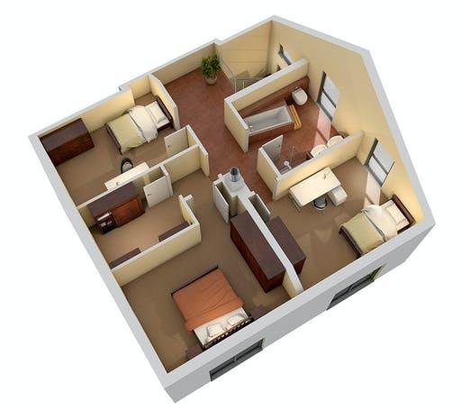 Ytong Einfamilienhaus 148 Floorplan 4