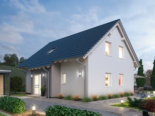 Einfamilienhaus EFH 151 von Ytong Bausatzhaus Außenansicht 1