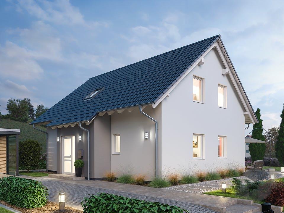 Einfamilienhaus EFH 151 von Ytong Bausatzhaus Außenansicht