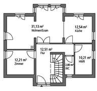 Einfamilienhaus EFH 151 Grundriss