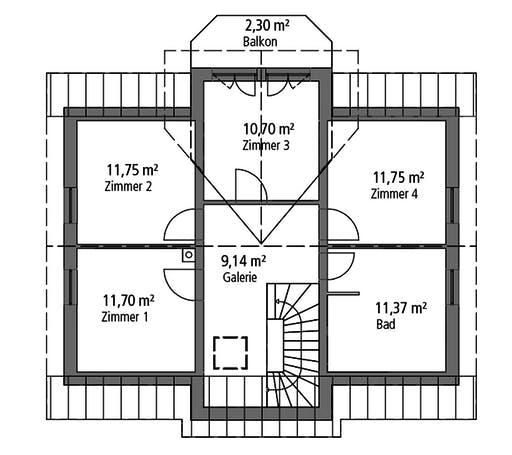 Ytong Einfamilienhaus 151 Floorplan 2
