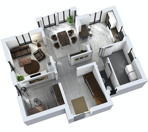 Ytong Einfamilienhaus 151 Floorplan 3