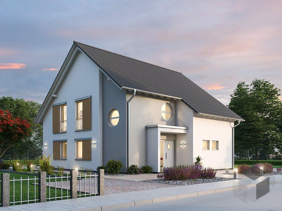 Einfamilienhaus EFH 173 von Ytong Bausatzhaus Außenansicht