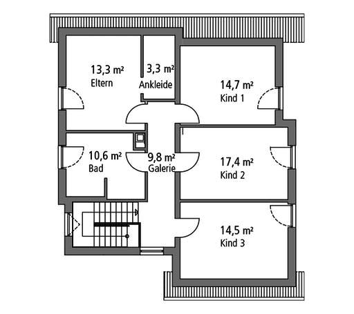 Ytong Einfamilienhaus 173 Floorplan 2