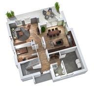 Einfamilienhaus EFH 173 Grundriss