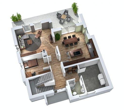 Ytong Einfamilienhaus 173 Floorplan 3