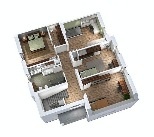 Ytong Einfamilienhaus 173 Floorplan 4