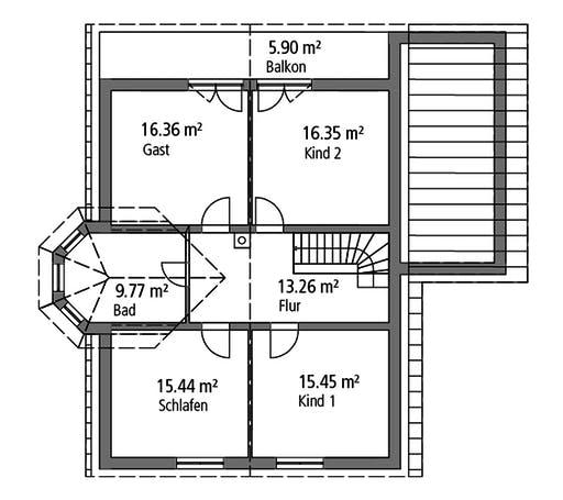 Ytong Einfamilienhaus 190 Floorplan 2