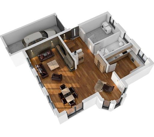 Ytong Einfamilienhaus 190 Floorplan 3