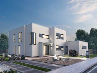 Mehrfamilienhaus MGH 232 von Ytong Bausatzhaus Außenansicht 1