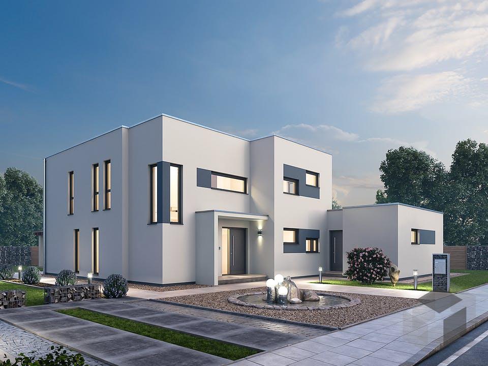 Mehrfamilienhaus MGH 232 von Ytong Bausatzhaus Außenansicht