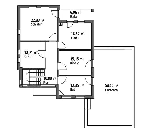 Ytong Mehrgenrationenhaus MGH 232 Floorplan 2