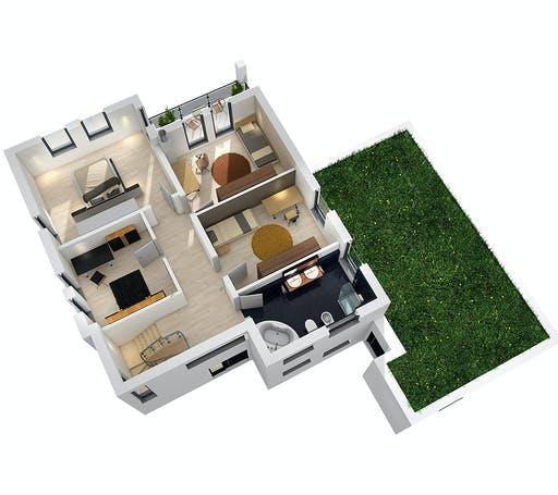 Ytong Mehrgenrationenhaus MGH 232 Floorplan 4