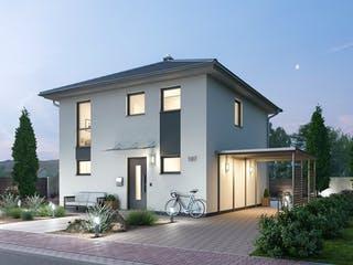 Stadtvilla STV 107 von Ytong Bausatzhaus Außenansicht 1