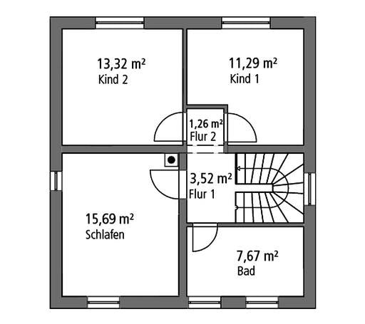 Ytong Stadtvilla STV 107 Floorplan 2