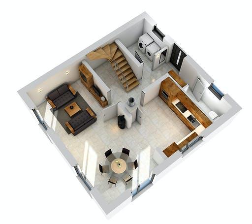 Ytong Stadtvilla STV 107 Floorplan 3
