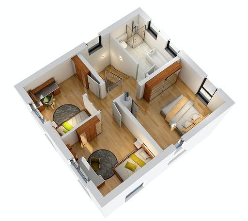 Ytong Stadtvilla STV 107 Floorplan 4