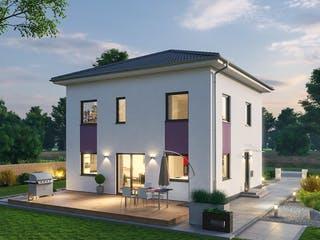 Stadtvilla STV 122 von Ytong Bausatzhaus Außenansicht 1