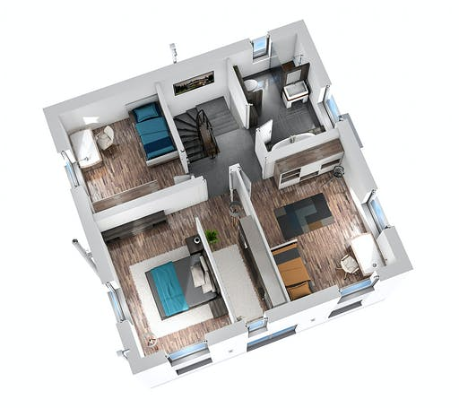Ytong Stadtvilla STV 122 Floorplan 4