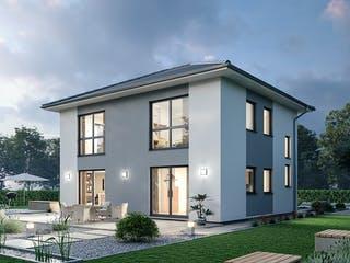 Stadtvilla STV 133 von Ytong Bausatzhaus Außenansicht 1