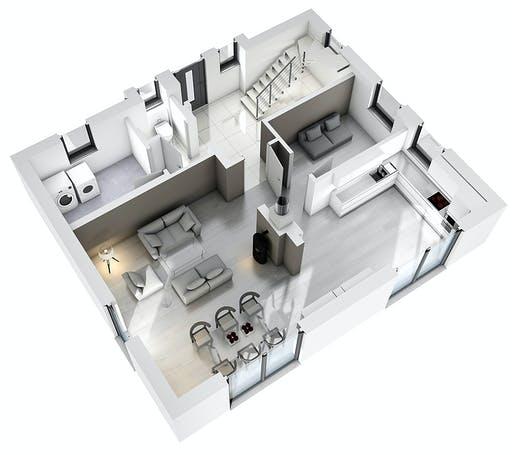 Ytong Stadtvilla STV 133 Floorplan 3