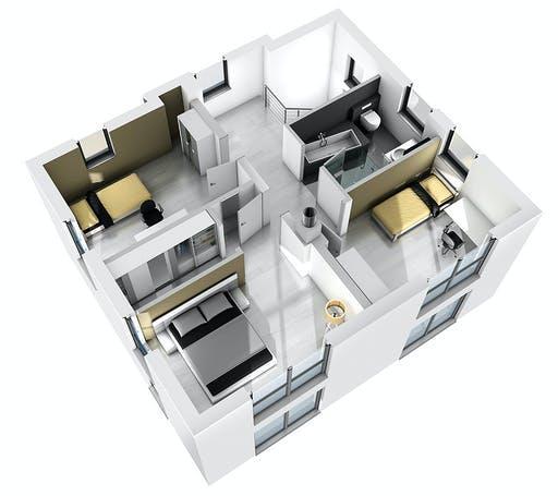 Ytong Stadtvilla STV 133 Floorplan 4