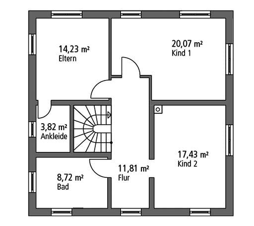 Ytong Stadtvilla STV 157 Floorplan 2