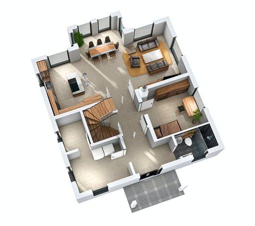 Ytong Stadtvilla STV 157 Floorplan 3