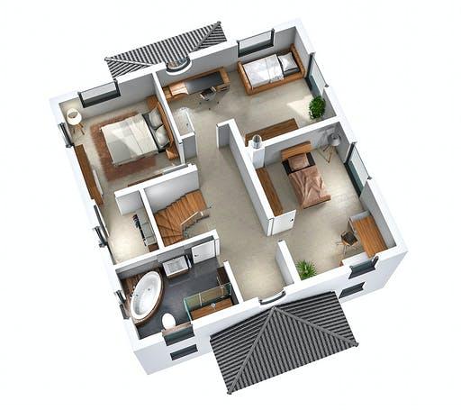 Ytong Stadtvilla STV 157 Floorplan 4